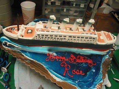 creative birthday cake!