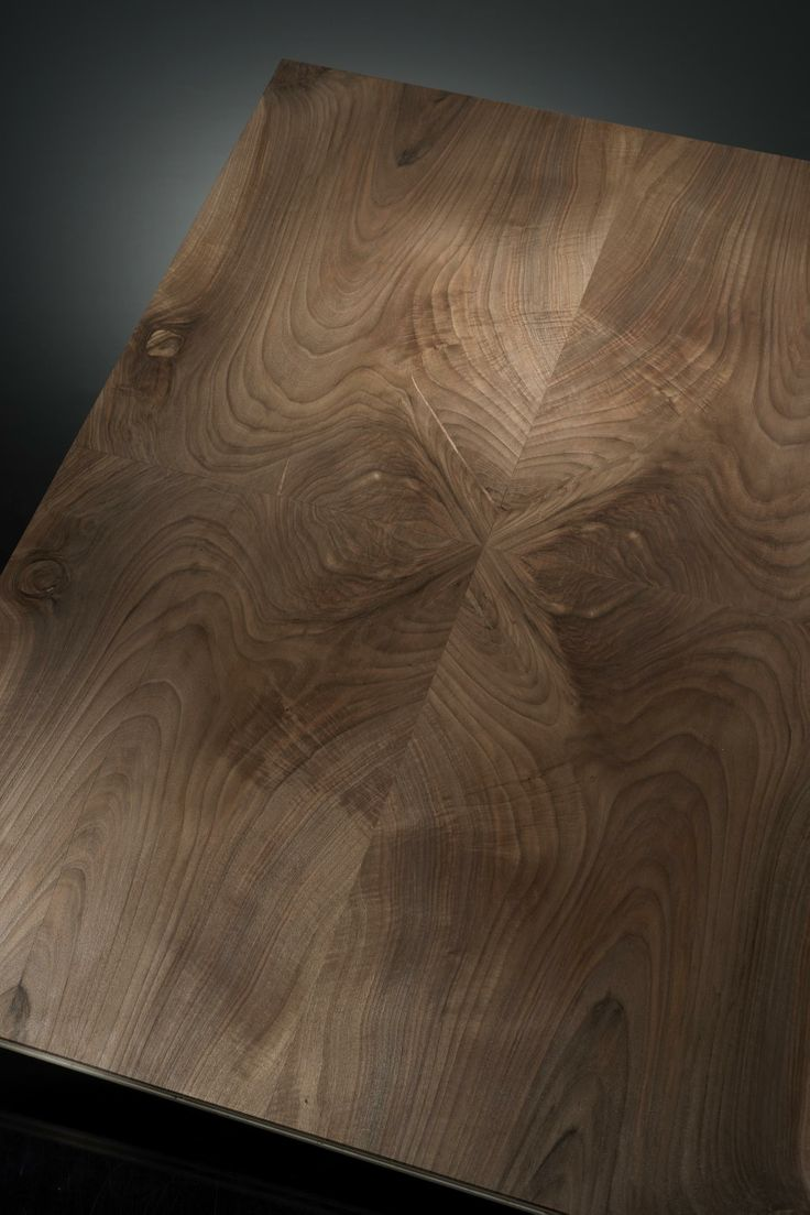 """walnut crotch detail. The Élite Prestige #wood #panel can be supplied in its """"centered"""" (symmetric) version or """"palladian"""" (irregular but classical """"incertum opus""""). This makes the #parquet a unique work of #art. #madeinitaly #interior #design #home #classical #walnut #crotch"""