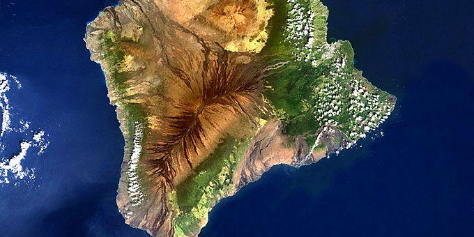 Η απίστευτη ομορφιά της Γης… από ψηλά! Το Μεγάλο Νησί της Χαβάης