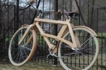 Sman Cruisers' Classic Wooden Bikes Take to the Streets With Sustainable Style