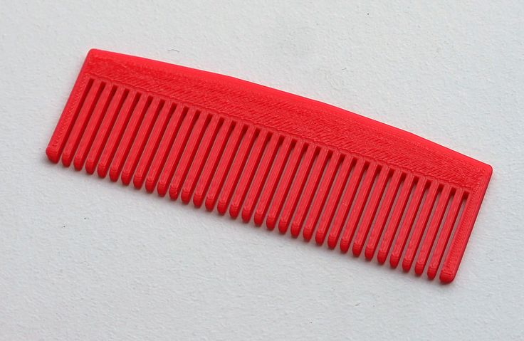 Hair Comb | | 8 Simple, Practical 3D Printer Projects