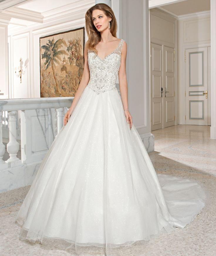Demetrios Couture Wedding Dress Style C210
