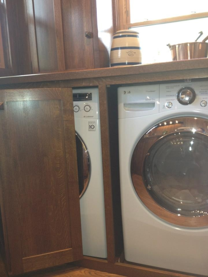 128 Best Hidden Washer And Dryer Images On Pinterest