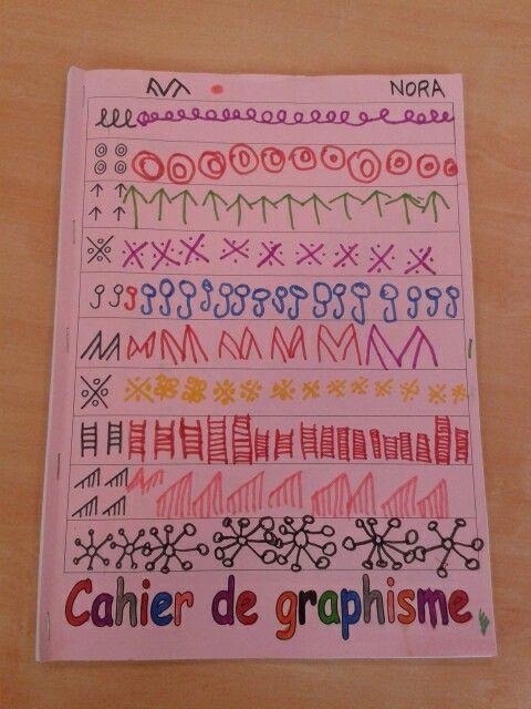 Couverture cahier de graphisme GS