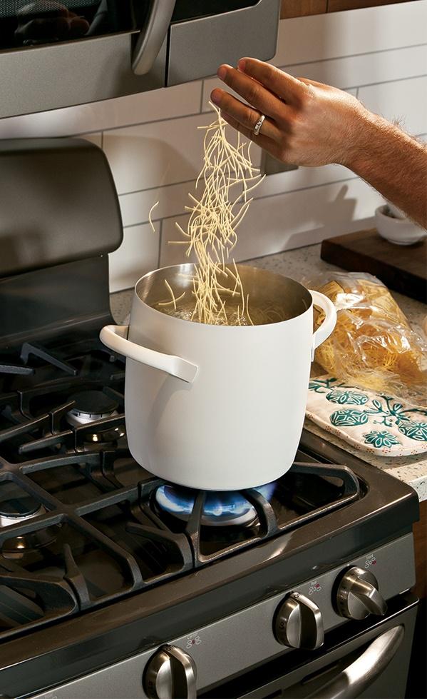 White cookware