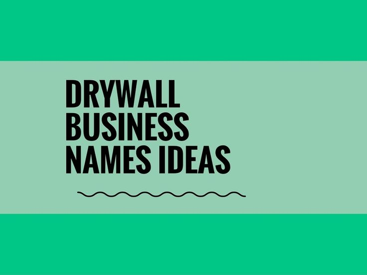 While your business may be extremely professional and important, choosing a creative company name can attract more attention.A Creative name is the most important thing of marketing. Check here creative, best Drywall Company names ideas for your inspiration.