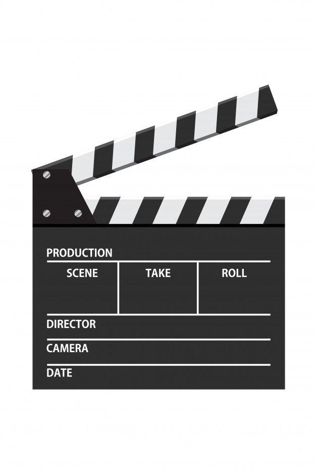 Movie Clapper Board Vector Illustration Video Icon Film Making Industry T Shirt Logo Design Vector Illustration Filmmaking