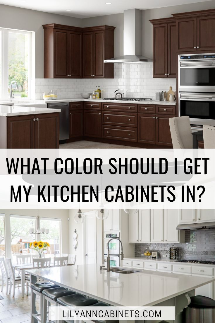 Style Guide What Color Should I Get My Kitchen Cabinets In Cheap Kitchen Cabinets Best Kitchen Cabinets Kitchen Cabinets