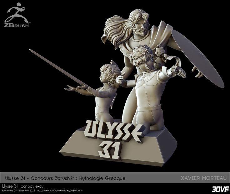 www.3DVF.com : Portfolio de Morteau Xavier   xavlexav - Ulysse 31