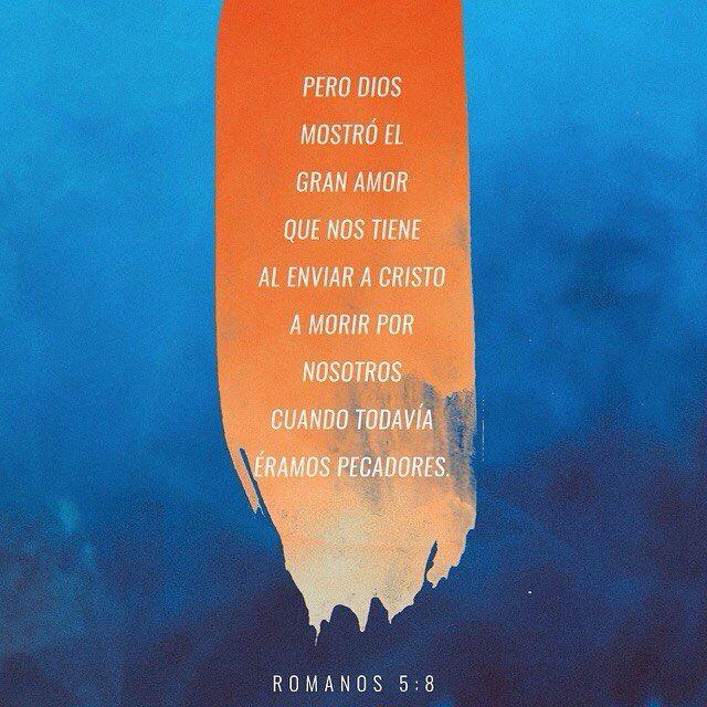 Pero Dios nos demostró su gran amor al enviar a Jesucristo a morir por nosotros a pesar de que nosotros todavía éramos pecadores. Romanos 5:8 @youversion @ibvcp #buenosdias #islademargarita #venezuela