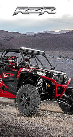 2015 Polaris RZR XP 4 1000 EPS Havasu Red Pearl : Features