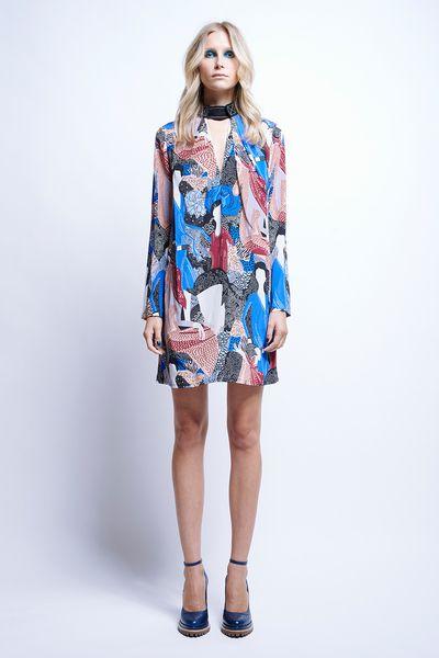 Sapphire Tab Dress - All Items | Karen Walker