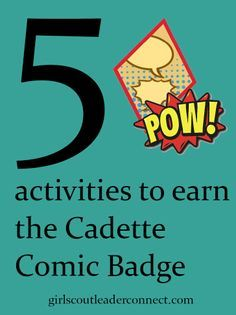 If your getting ready to plan your Cadette Girl Scout meeting and need Cadette comic badge ideas look no further for the perfect planned out program to earn the Comic artist badge.