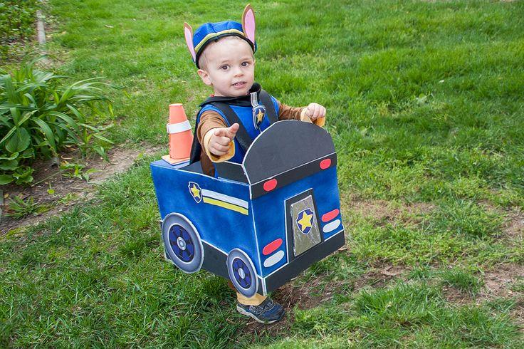 Paw Patrol Police Car Costume