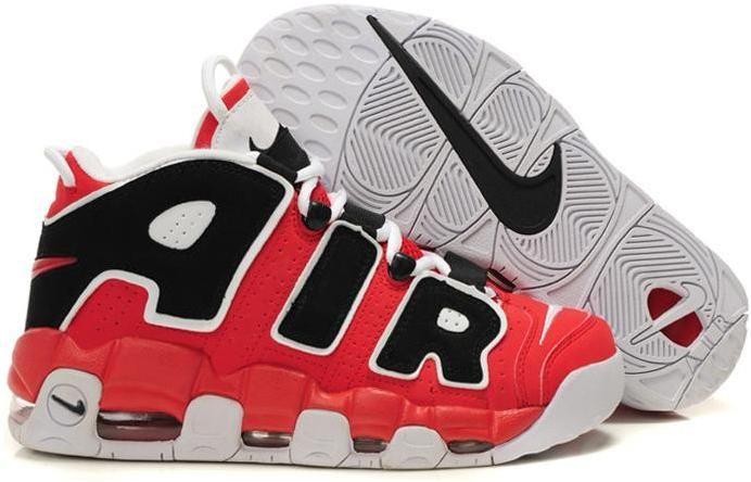 66b6bc3bd98 Nike Air More Uptempo Scottie Pippen Shoes Red/Black/White Sport | Shoes |  Nike basketball shoes, Air jordan shoes, Mens nike air