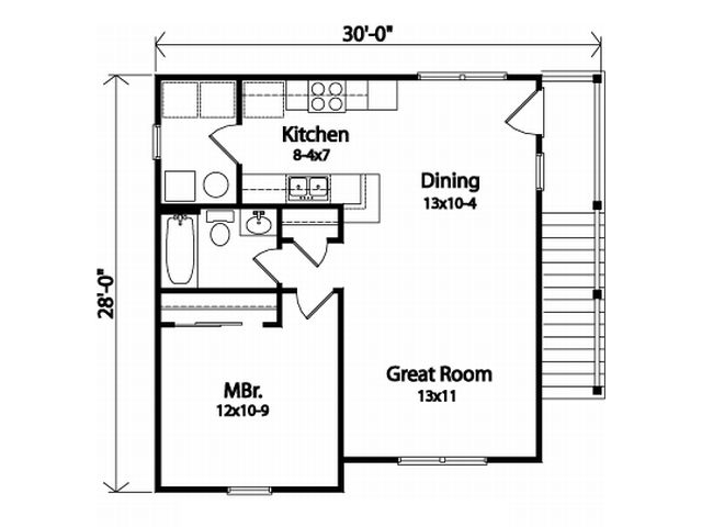 2nd Floor Plan Over Garage Would Be Ok For The Home