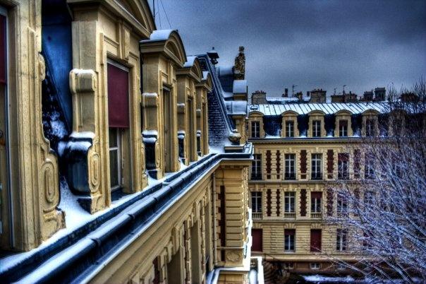 Haussmann Building - Paris