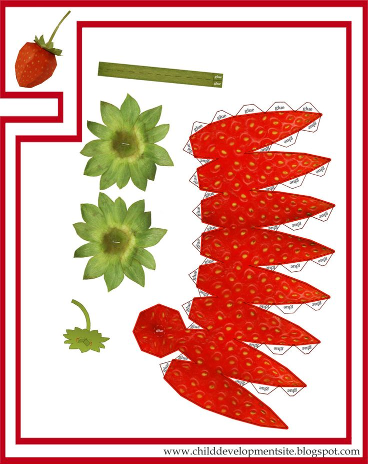 Paper Craft Fruits Vegetables Tafhs Com