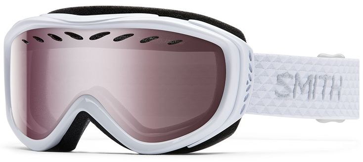 Smith Transit Women's Snowboard/Ski Goggles, S, White, Ignitor