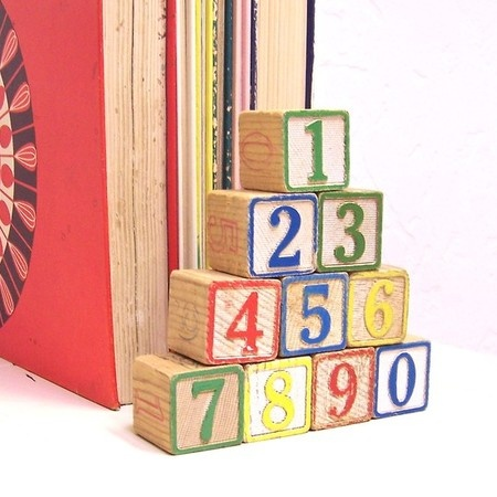 Vintage Wooden Blocks for Wooden Toy Theme