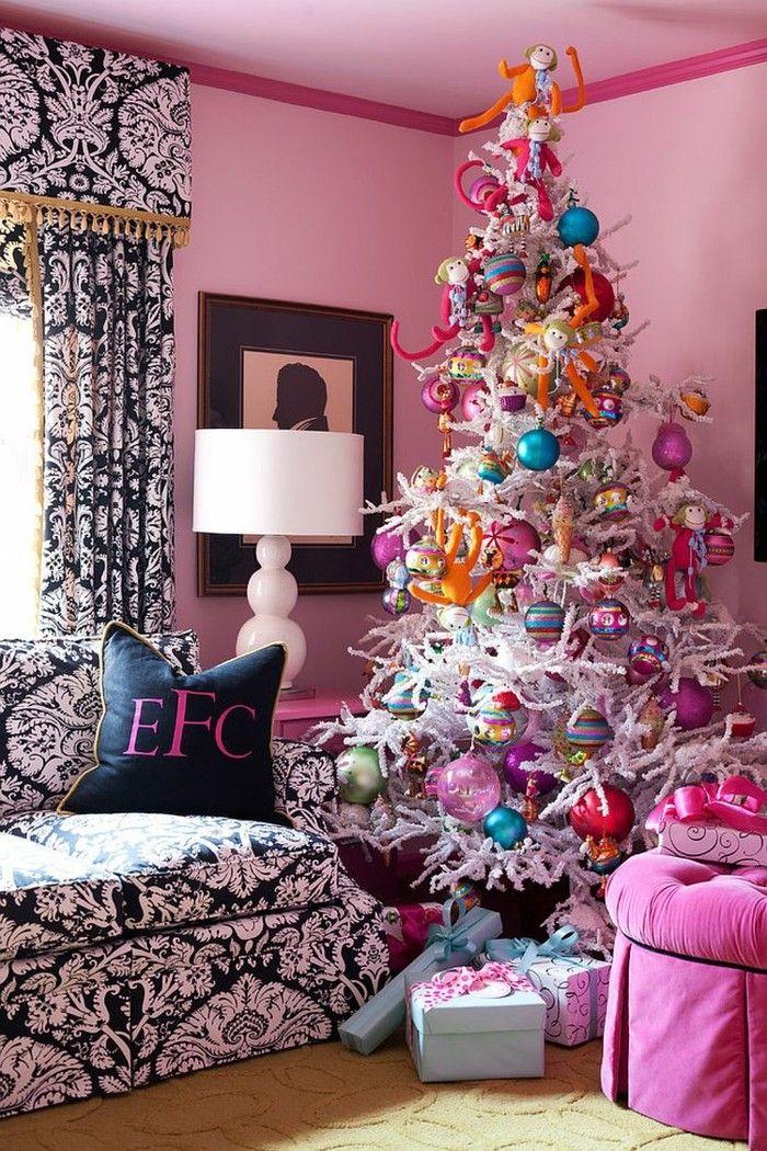 die besten 25 tannenbaum schm cken ideen auf pinterest baum schm cken weihnachten. Black Bedroom Furniture Sets. Home Design Ideas
