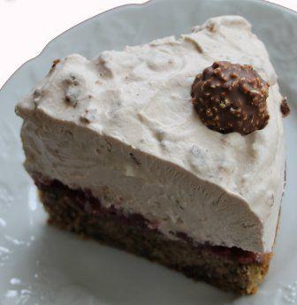 Ferrero Rocher Torte Rezept In 2019 Kuchen Rocher Torte
