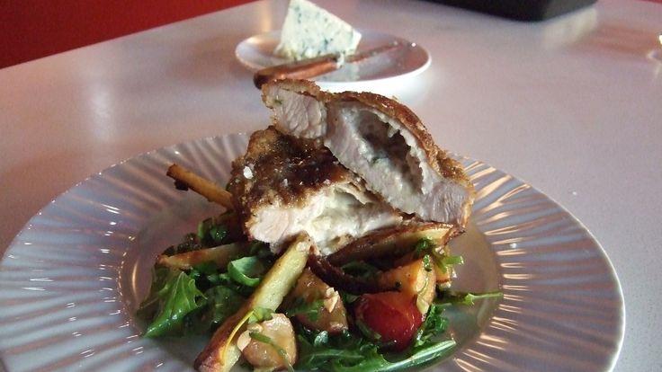 Gorgonzolafylte koteletter