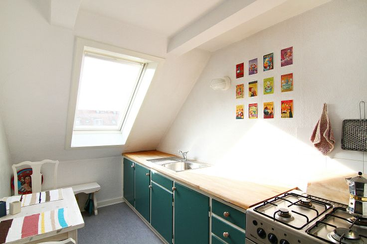 Nice studio apartment in Copenhagen close to the metro with small kitchen