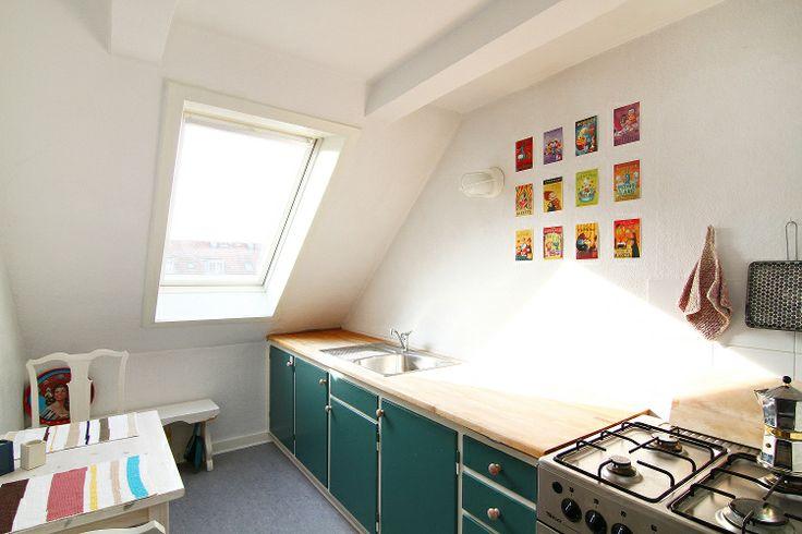 Nice studio apartment in Copenhagen close to the metro with small kitchen
