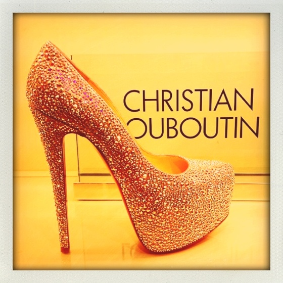 Louboutin- It is my dream to own a pair of Christian Louboutin shoes.. gah, they are gorgeous!