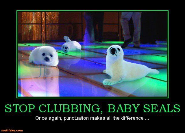 haha: Parties Animal, Grammar Jokes, Dance Floors, Grammar Humor, Funny Pictures, Make A Difference, English Teacher, Funny Stuff, Baby Seals