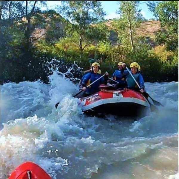 Mejores lugares para hacer rafting en Andalucía - España