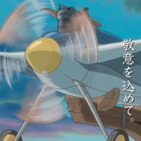 Bird Plane was built by Jiro Horikoshi appears begin at the film when Jiro fly away with his...