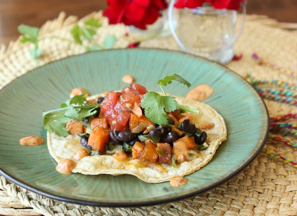 Sweet Potato, Poblano, and Black Bean tacos-4524: Beans Tacos 4524, Bulking Dinners, Engagement Party'S Stag, Gluten Fre Tacos, Black Bean Tacos, Restaurant Sweet, Gluten Free, Sweet Potatoes, Black Beans Tacos