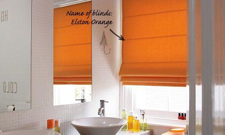 i really want orange blinds
