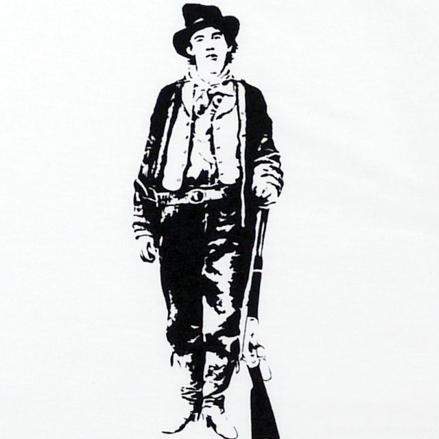【MISSY MISTER】ビリー・ザ・キッド (Billy the Kid) Tシャツ