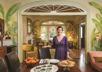 Nancy Gunn - Auld Sweet Olive Bed & Breakfast - from an ad for Fidelity Homestead Bank