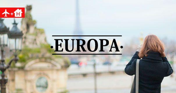 Ofertas Vuelo + Hotel Europa