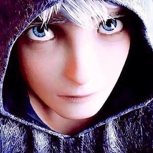 Jack Frost es guapo, sus ojos azules son hermosos, su cabellos es como la nieve blanca, su sonrisa ENAMORA  y es muy divertido AMO A JACK FROST <3