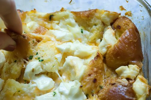 Overnight breakfast casserole: Breakfast Eggs, Breakfast Casseroles ...