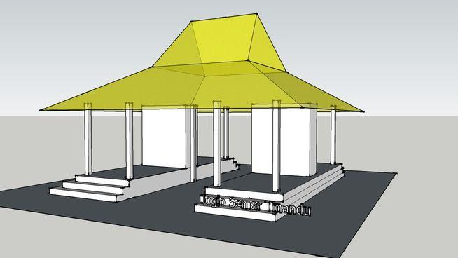 Rumah Jawa - Joglo Semar Tinandu - 3D Warehouse
