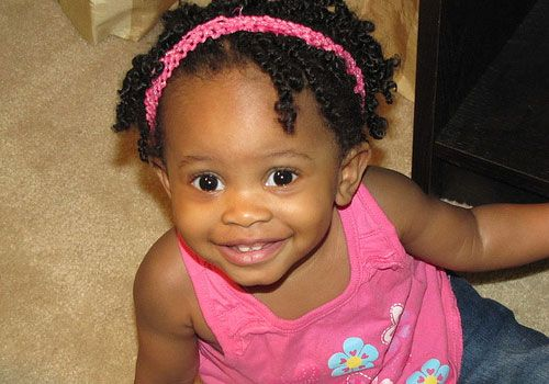 black curly hair kids | 25 Adorable Hairstyles For Little Black Girls