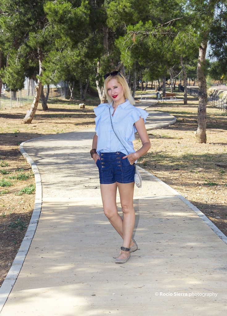 Outfit Short y Camisa – In-Out Style