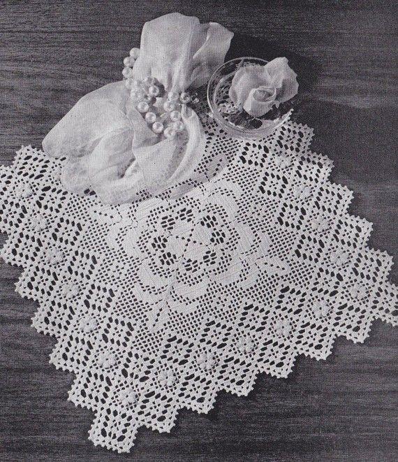 Vintage Doilies Crochet Pattern