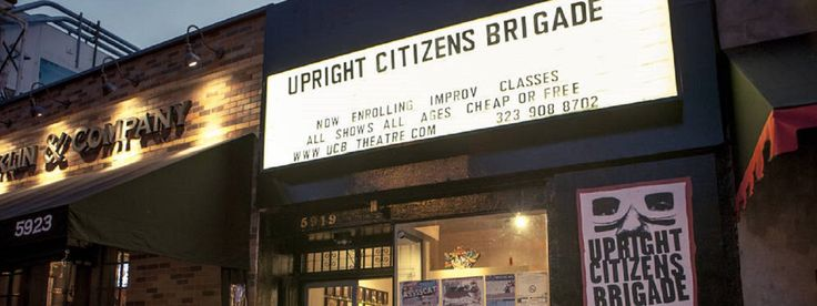 The UCB Theatre is home to LA's best live comedy. Improv, sketch, stand-up and more for $10 or less.