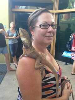 Slowly getting over my irrational fear of reptile at Crocosaurus Cove, Darwin #croccove #NTAustralia http://www.maidinaustralia.com/2015/07/snakes-rats-and-crocs-oh-my.html