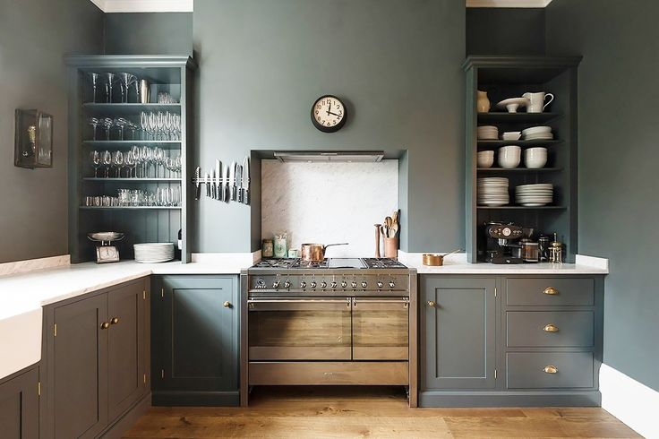 What Is the Next Big Kitchen Cabinet Color Trend? via @MyDomaine PHOTO: Courtesy of DeVol Kitchens