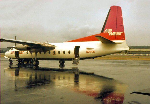 Air West Fairchild F-27 N2705 (c/n 16)