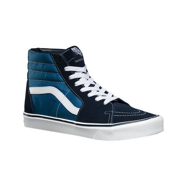 be99cd8e0b9 Vans Sk8-Hi Lite (€60) ❤ liked on Polyvore featuring shoes ...