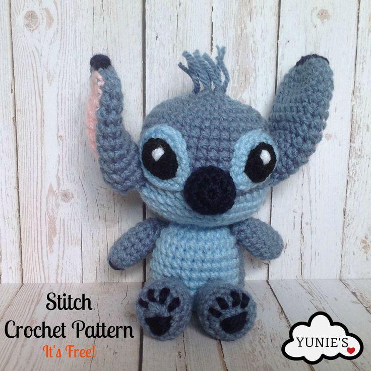 Amigurumi Stitch Free Pattern : Oltre 1000 immagini su Amigurumi su Pinterest Motivo ...